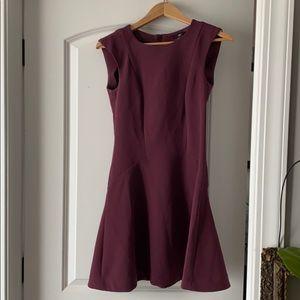 H&M purple Swing Dress